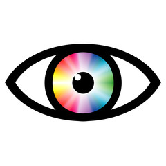 Color swatch eye