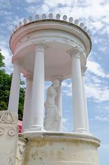 Sculpture in the rotunda in Feodosia