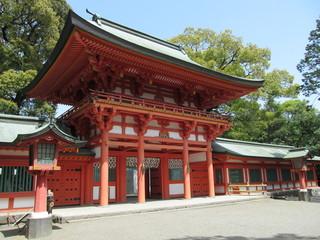 氷川神社の入口