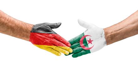 Handshake Deutschland und Algerien