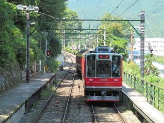 箱根登山電車の信号場