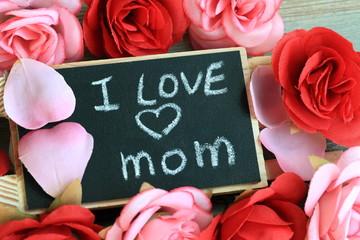 I love mom message
