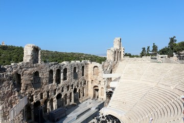 Acropolis of Athens,Odeon of Herodes Atticus