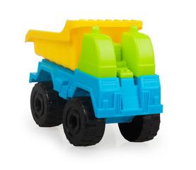 bright plastic baby car