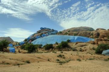 [Afrika] Marokko - Blue Mountain Rocks - Die Bauen Steine