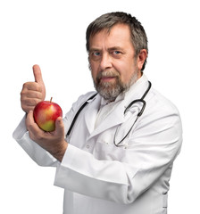 Doctor advises apple for healthy eating