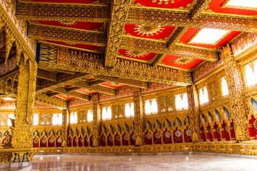 Thai style art at temple