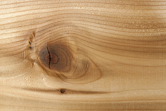 Wood closeup with knot