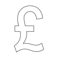 Pound symbol icon