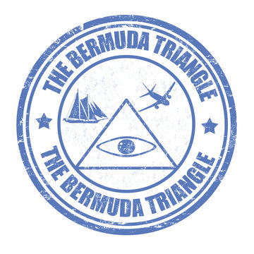 The Bermuda Triangle stamp