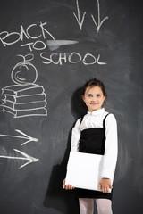 Dziecko przy tablicy