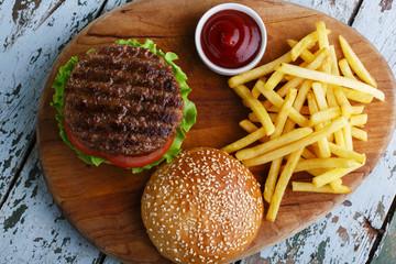 Fototapete - hamburger