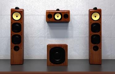 home multimedia speakers