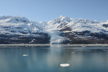 Printed kitchen splashbacks Glaciers Yakutat bay