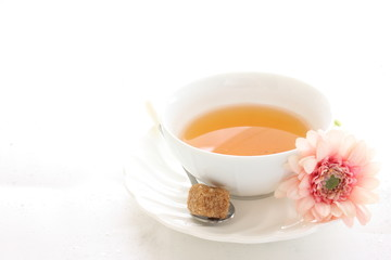 English tea and brown sugar