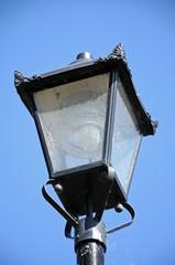 Old wrought iron streetlight © Arena Photo UK