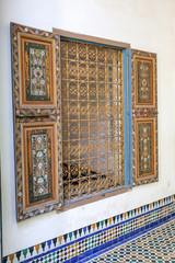 palais bahia mur fenêtre