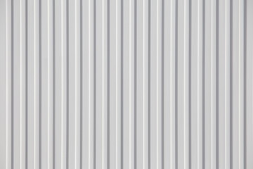 White corrugated metal background and texture surface Buy this
