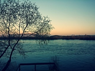 River on Sunset