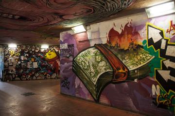 underpass graffiti
