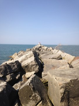 Ashtabula, OH Lighthouse Path