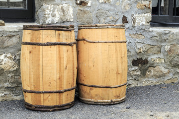Hand Crafted Water Barrels