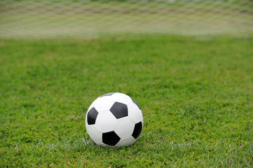 Close-up soccer ball
