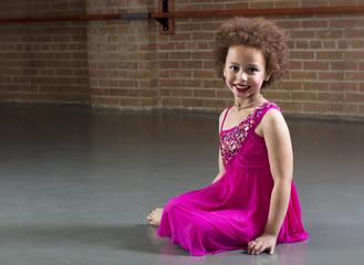 Beautiful Young Dancer portrait diversity