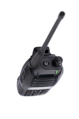 Portable UHF radio transmitter