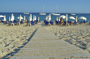 Fotomurales - parga valtos beach
