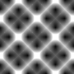 Design seamless monochrome checked diamond geometric pattern