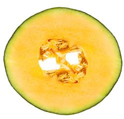 melon fruit slice