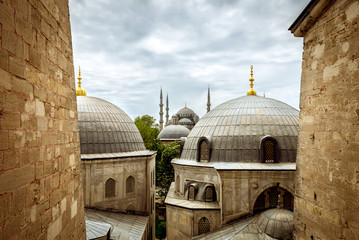 Backyard of Hagia Sophia
