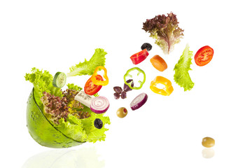 Wall Mural - Vegetables in the bowl