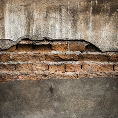 Brick grunge wall background and texture
