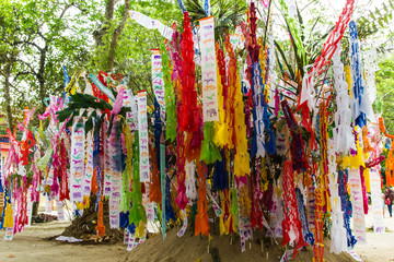 Songkran Festival at Wat Thum Chiangdow