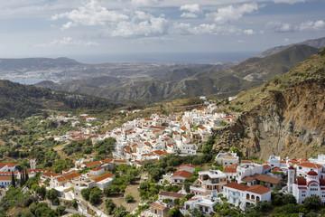 """Das Dorf """"Aperi"""" auf Karpathos, Griechenland"""