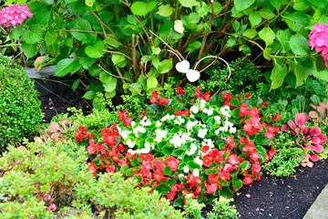 Grabschmuck, Blumen