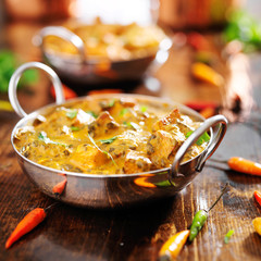 Wall Murals Ready meals indian food - saag paneer curry dish
