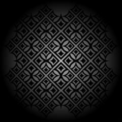 черный фон с узором