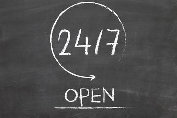 24/7 open