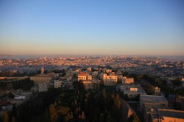 Рассвет в Иерусалиме