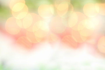Bright Bokeh Background