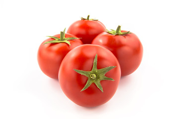 Wall Mural - Four Tomatoes - Clipping Path Inside