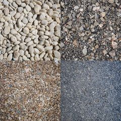 A mosaic variety of Pebbles pattern