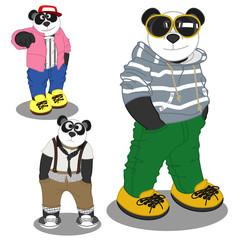 Panda lifestyle fashion