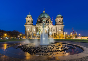 Berlin Cathedral (Berliner Dom) at Night