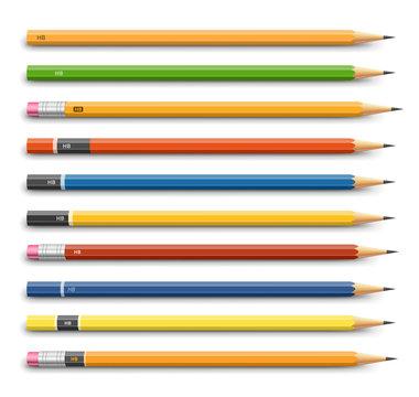 Pencils various design