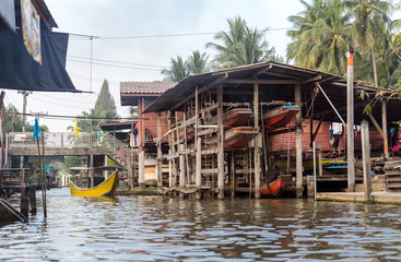 Slums in Thailand