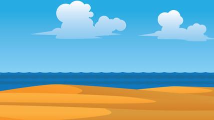 vector summer wallpaper